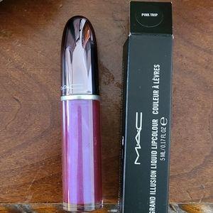 MAC liquid lip color lipstick pink trip